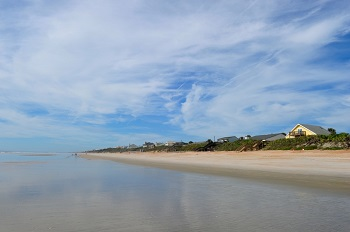 St. Augustine Beach in St. Johns County, FL